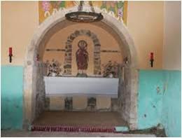 Interior ermita